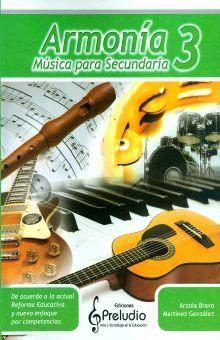 ARMONIA 3. MUSICA PARA SECUNDARIA