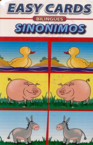 EASY CARDS BILINGUES SYNONYMS / SINONIMOS