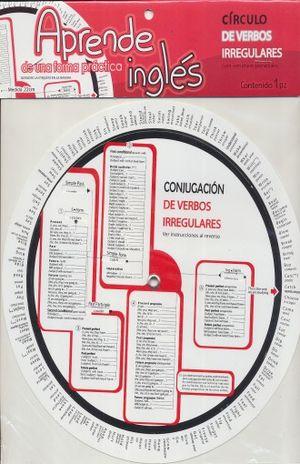 CIRCULO DE VERBOS IRREGULARES EN INGLES