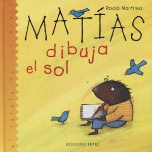 MATIAS DIBUJA EL SOL / PD.
