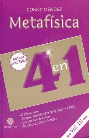 METAFISICA 4 EN 1 / VOL. 3
