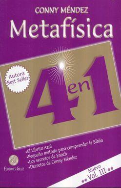 METAFISICA 4 EN 1 / VOL. III / 2 ED.