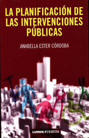 PLANIFICACION DE LAS INTERVENCIONES PUBLICAS, LA