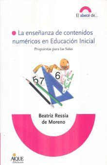 ENSEÑANZA DE CONTENIDOS NUMERICOS EN EDUCACION INICIAL, LA