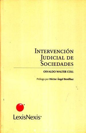 INTERVENCION JUDICIAL DE SOCIEDADES