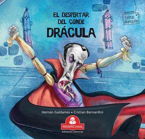 El despertar del conde Drácula / Letras animadas