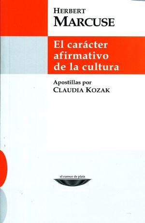 CARACTER AFIRMATIVO DE LA CULTURA, EL