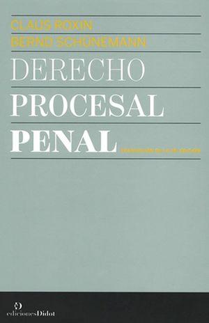 DERECHO PROCESAL PENAL / PD.