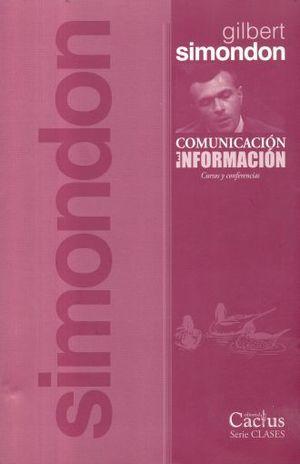 COMUNICACION E INFORMACION. CURSOS Y CONFERENCIAS