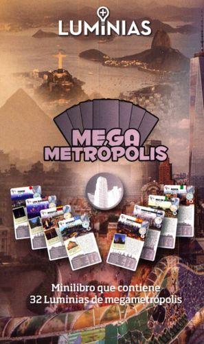 MEGA METROPOLIS. MINILIBRO CON 32 TARJETAS