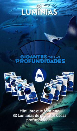 GIGANTES DE LAS PROFUNDIDADES. MINILIBRO CON 32 TARJETAS