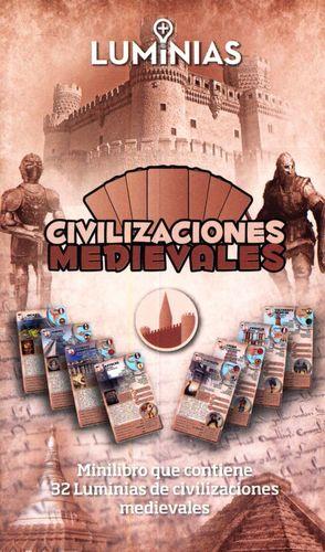 CIVILIZACIONES MEDIEVALES. MINILIBRO CON 32 TARJETAS