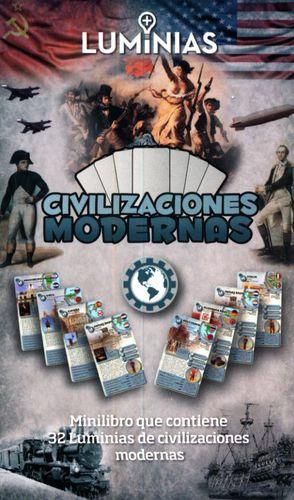 CIVILIZACIONES MODERNAS. MINILIBRO CON 32 TARJETAS
