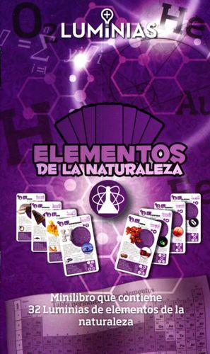 ELEMENTOS DE LA NATURALEZA. MINILIBRO CON 32 TARJETAS
