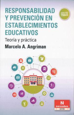 RESPONSABILIDAD Y PREVENCION EN ESTABLECIMIENTOS EDUCATIVOS