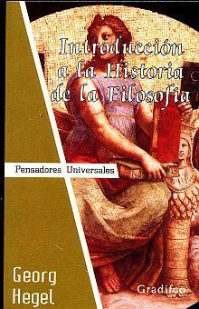 INTRODUCCION A LA HISTORIA DE LA FILOSOFIA