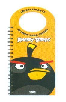ANGRY BIRDS MI LIBRO PARA COLGAR NARANJA / PD.
