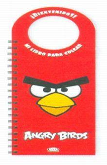ANGRY BIRDS MI LIBRO PARA COLGAR ROJO / PD.