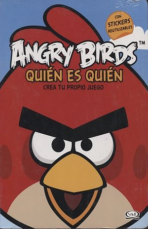ANGRY BIRDS. QUIEN ES QUIEN / PD. (INCLUYE STICKERS)