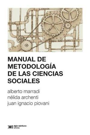 MANUAL D EMETODOLOGIA DE LAS CIENCIAS SOCIALES