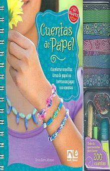 CUENTAS DE PAPEL (INCLUYE ACCESORIOS)
