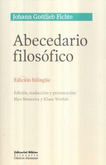 ABECEDARIO FILOSOFICO (ED. BILINGUE)