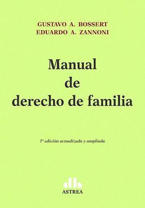 Manual de derecho de familia / 7 ed.