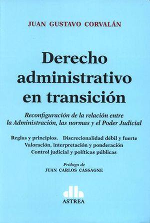Derecho administrativo en transicion