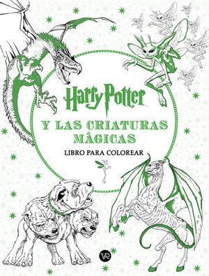 HARRY POTTER Y LAS CRIATURAS MAGICAS. LIBRO PARA COLOREAR