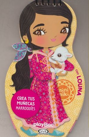 CREA TUS MUÑECAS MARROQUIES CON  LOUNA / PD.