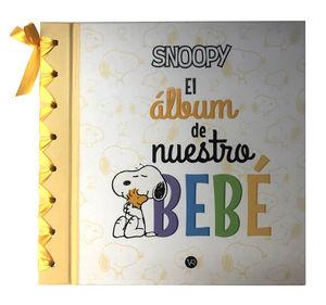 Snoopy. El álbum de nuestro bebe / pd.