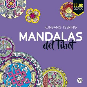 Mandalas del Tíbet Color Block