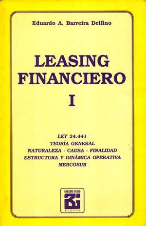 LEASING FINANCIERO / TOMO I