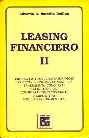 LEASING FINANCIERO / TOMO II