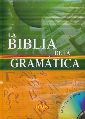 BIBLIA DE LA GRAMATICA, LA / PD. (INCLUYE CD)