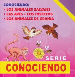 SERIE CONOCIENDO / 4 VOLS. / PD.