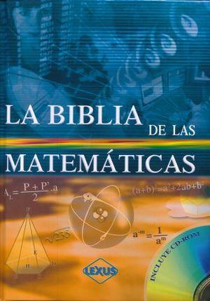 BIBLIA DE LAS MATEMATICAS, LA / PD. (INCLUYE CD)