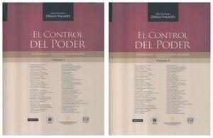 CONTROL DEL PODER, EL. LIBRO HOMENAJE A DIEGO VALDES / DOS TOMOS / 2 ED. / PD.