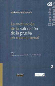 MOTIVACION DE LA VALORACION DE LA PRUEBA EN MATERIA PENAL, LA / PD.