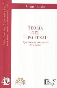 TEORIA DEL TIPO PENAL /  2 ED.