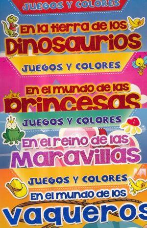 COL. JUEGOS Y COLORES / PD. (4 TITULOS) (VENTA INDIVIDUAL)