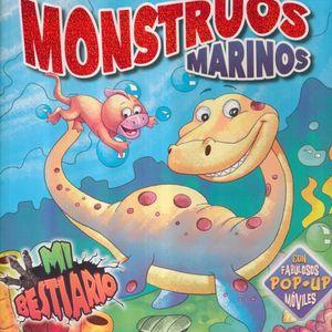 MONSTRUOS MARINOS / MI BESTIARIO POP UP / PD.