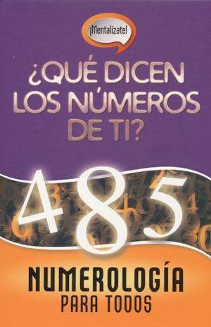 NUMEROLOGIA PARA TODOS / PD.