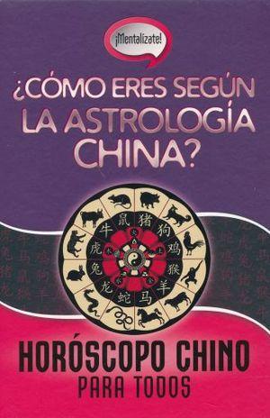 HOROSCOPO CHINO PARA TODOS / PD.