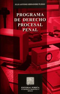 PROGRAMA DE DERECHO PROCESAL PENAL / 23 ED.