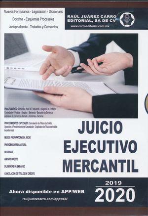 Juicio ejecutivo mercantil 2020 (CD ROM)