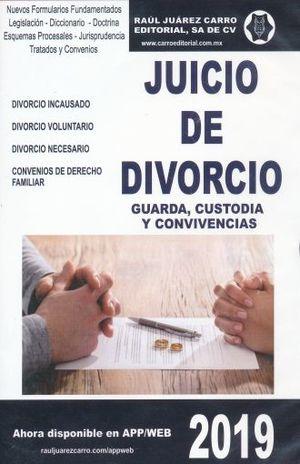 JUICIO DE DIVORCIO 2019 (CD ROM)