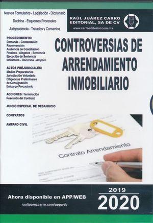Controversias en el juicio de arrendamiento inmobiliario 2020 (CD ROM)