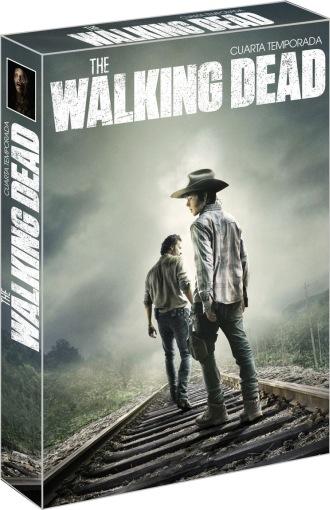 THE WALKING DEAD / CUARTA TEMPORADA / DVD. Serie de tv. Librería El ...