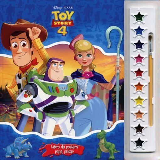 Libro De Posters Para Pintar Toy Story 4